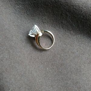 Jewelry - Real 14kt Gold Huge Cz#SOLD